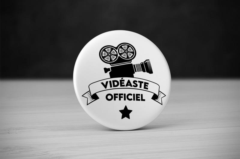 Badge Métier Vidéaste