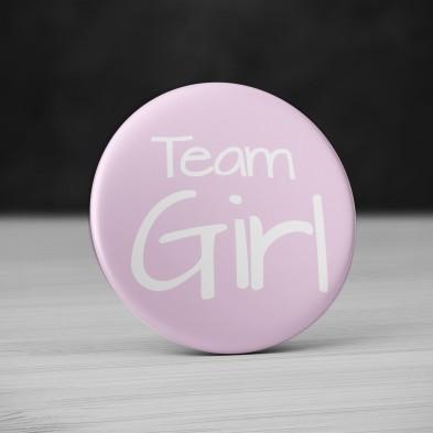 Badge Team Girl
