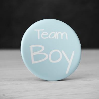 Badge Team Boy