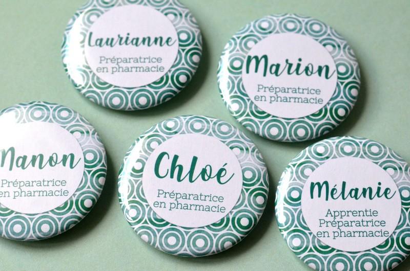 Badge Métier Pharmacie