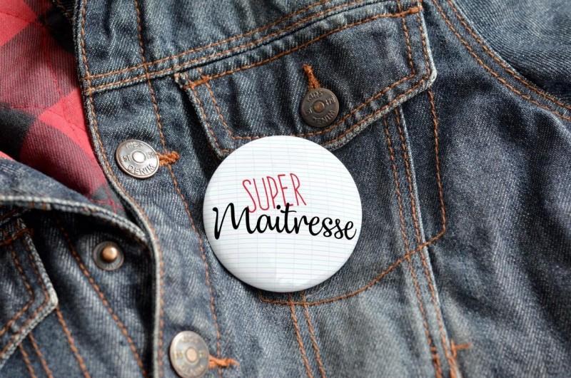 Badge Super Maîtresse