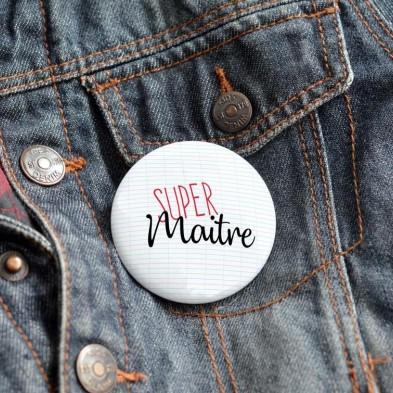 Badge Super Maître