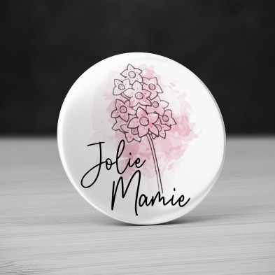 Badge Jolie Mamie