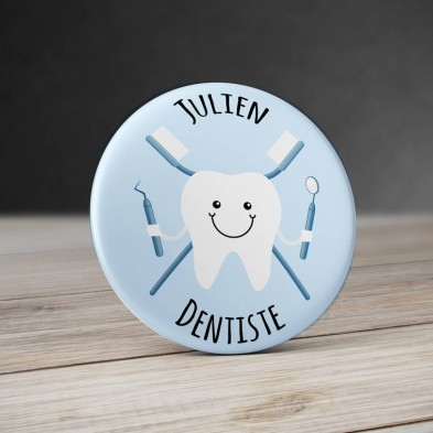 Badge Métier Dentiste