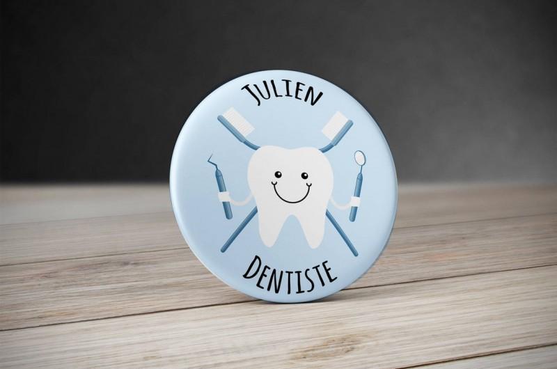 Badge Métier Dentiste