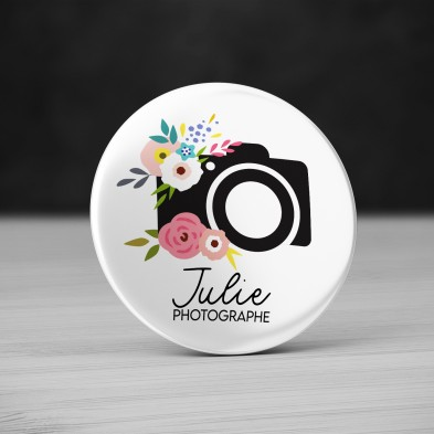 Badge Métier Photographe