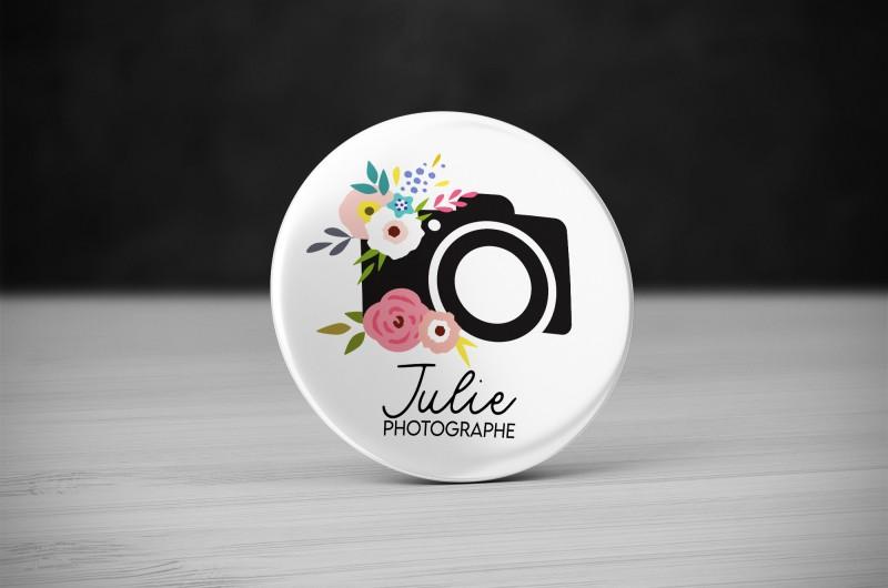Badge Métier Photographe